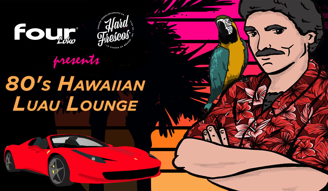 80's Hawaiian Luau Lounge